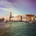 Italiy, Venice, approach to St Mark's Square - LVF003813