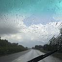 Rain on windscreen - GWF004491