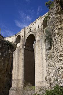 Spain, Andalusia, Ronda, Puente Nueve at El Tajo - ABOF000041
