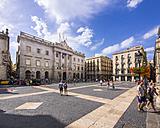 Spain, Barcelona, Palau de la Generalitat - AM004234