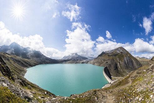 Switzerland, Wallis, view to storage lake Griessee - STSF000914