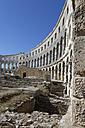 Croatia, Pula, Roman amphitheatre at historic old town - LBF001203