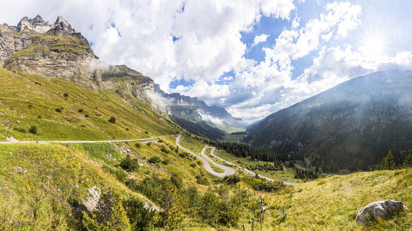 Switzerland, Canton of Glarus, Klausen Pass - STSF000953
