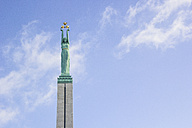 Latvia, Riga, Freedom Monument - MELF000082