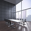 Modern conference room, 3D Rendering - UWF000628