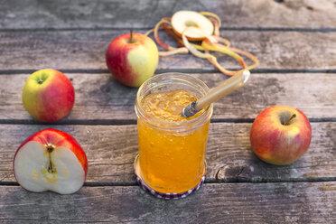 Apples and homemade apple jam - SARF002175