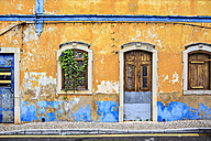 Portugal, facade of an old abandoned house - VTF000450