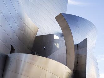 USA, Los Angeles, part of facade of  Walt Disney Concert Hall - SBD002314
