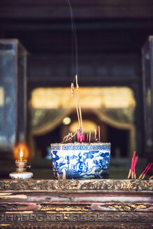 Vietnam, Buddhist shrine - EH000280