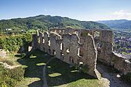 Germany, Baden-Wuerttemberg, Castle ruin Staufen - ELF001649