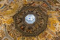 Italy, Florence, ceiling fresco of Basilica di Santa Maria del Fiore - FO008308