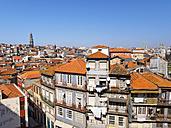 Portugal, Grande Porto, View of Porto, Torre dos Clerigos in the background - LAF001499