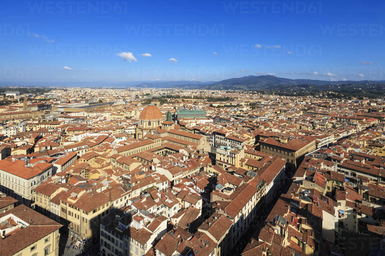 Italy, Tuscany, Florence, Cityscape, View of Cattedrale di Santa Maria del Fiore - FOF008317 - Fotofeeling/Westend61