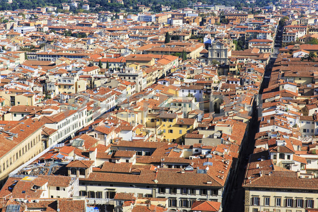 Italy, Tuscany, Florence, View of - FOF008326