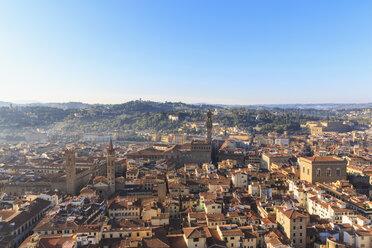 Italy, Tuscany, Florence, Cityscape with Palazzo Vecchio - FOF008329