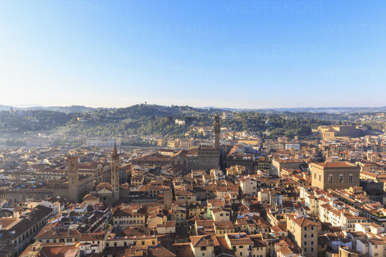 Italy, Tuscany, Florence, Cityscape with Palazzo Vecchio - FOF008329 - Fotofeeling/Westend61