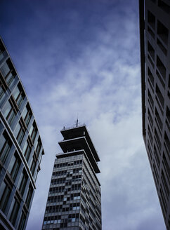 Germany, Cologne, view to high-rise building formerly telecommunications office - DASF000005