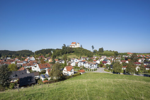 Germany, Baden-Wuerttemberg, district of Ravensburg, Waldburg Castle - ELF001663
