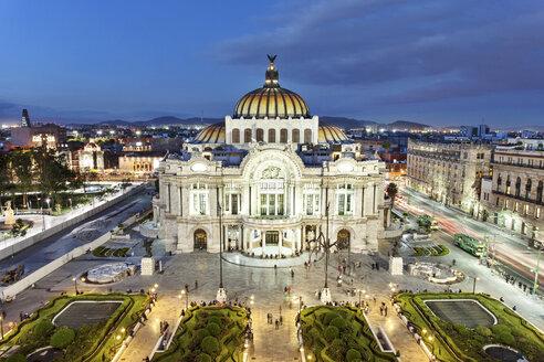 Mexico, Distrito Federal, Mexico City, Palacio de Bellas Artes - FPF000063