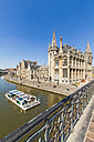 Belgium, Ghent, old town, historical houses at River Leie - WD003358