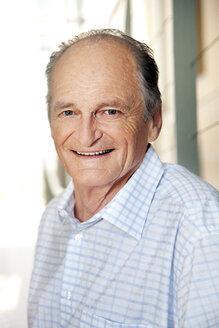 Portrait of a smiling senior - RMAF000164