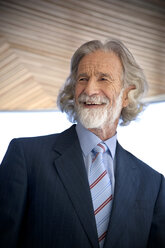 Portrait of an smiling senior man - RMAF000176