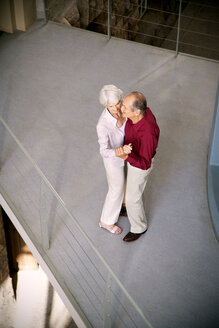 Happy senior couple dancing - RMAF000212