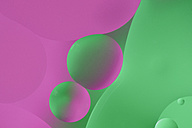 Oil and water, green and pink - MJOF001124