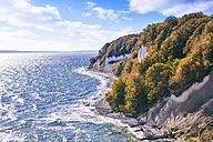 Germany, Mecklenburg-Western Pomerania, Ruegen, Jasmund National Park, Chalk coast - SEGF000427