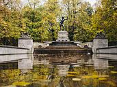 Germany, Munich, Father Rhine Fountain in autumn - KRPF001627