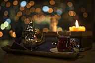 Turkish tea, candle light - MADF000755