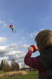 Young boy with kite - SARF002345