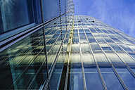 Office building, glas facade, low angle view - HOHF001381