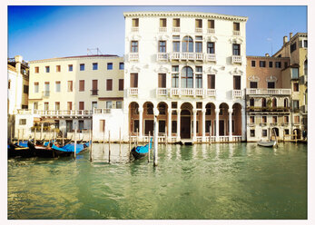 Italy, Venice, Canal, Palace - MEMF000920