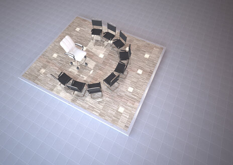 Therapy room with chairs, 3D Rendering - ALF000661