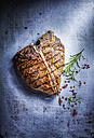 T-bone Steak, red pepper and rosemary - KSWF001688
