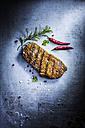 Rump steak, chili and rosemary - KSWF001691