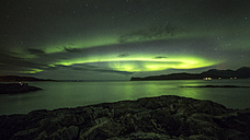 Norway, Troms, Northern lights - STSF000971