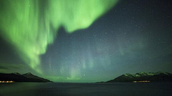 Norway, Troms, Northern lights - STSF000977