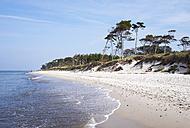 Germany, Mecklenburg-Western Pomerania, Baltic Sea beach in Born auf dem Darss - SIE006877