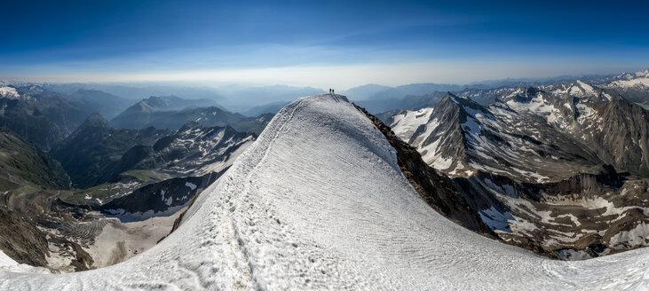 Switzerland, Wallis, Saas-Grund, Pennine Alps, Weissmies, panorama - ALRF000213
