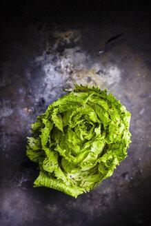 Endive salad on dark ground - KSWF001703