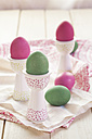 Green and pink Easter eggs - SBDF002539