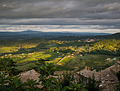 Italy, Tuscany, View from Montepulciano - GSF001017