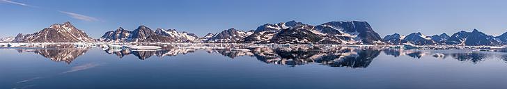 Greenland, Schweizerland, Kulusuk, Panorama - ALRF000227