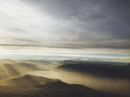 Sunrise over lake Geneva, Switzerland - FLF001245