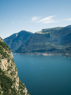 Italy, Lake Garda, View of the the Western shore - GSF001050