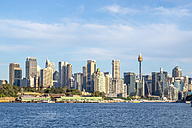 Australia, Sydney, view to skyline - PUF000453