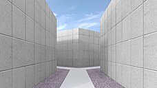Fork path, 3D Rendering - UWF000729