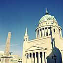 Germany, Potsdam, view to St. Nicholas church - MS004748